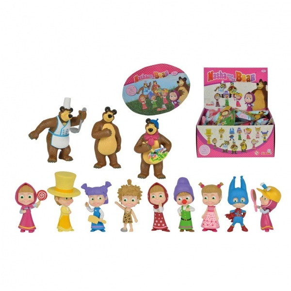 Maşa Mini Figür Sürpriz Paket Seri 2 Toyzz Shop