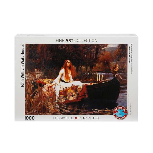 1000 Parça Puzzle : The Lady Of Shalott - John William Waterhouse