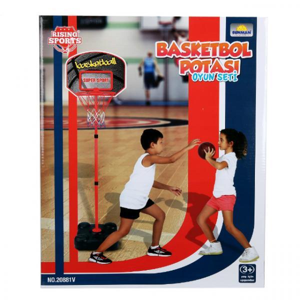 Ayaklı Basketbol Potası 109-141 cm.