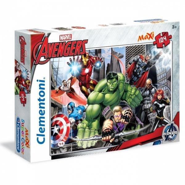 104 Parça Maxi Puzzle : Avengers