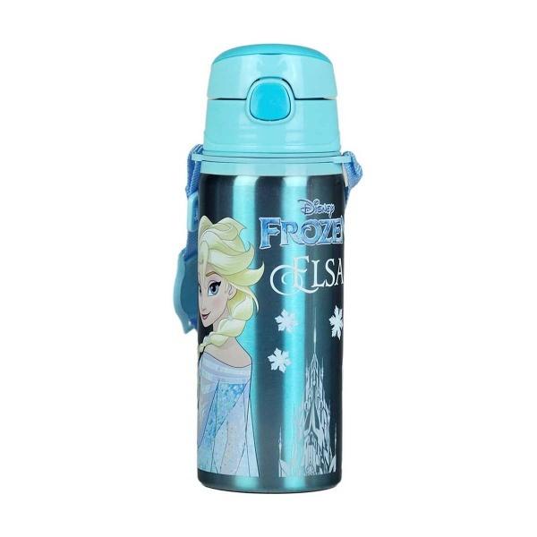 Frozen Elsa Çelik Matara 600 ml.